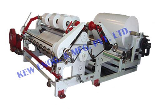 Heavy Duty Drum Type Slitter Rewinder Machine